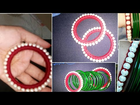 Reuse/recycle your old bangles and convert into fancy bangles 😄