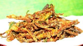 Crispy Okra / மொரு மொரு வெண்டைக்காய் [double Fry Method-south Indian Style]