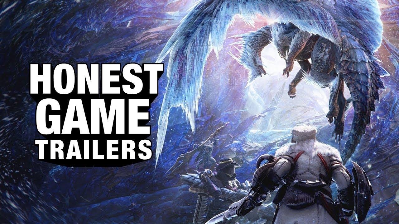 Honest Game Trailers | Monster Hunter World: Iceborne thumbnail