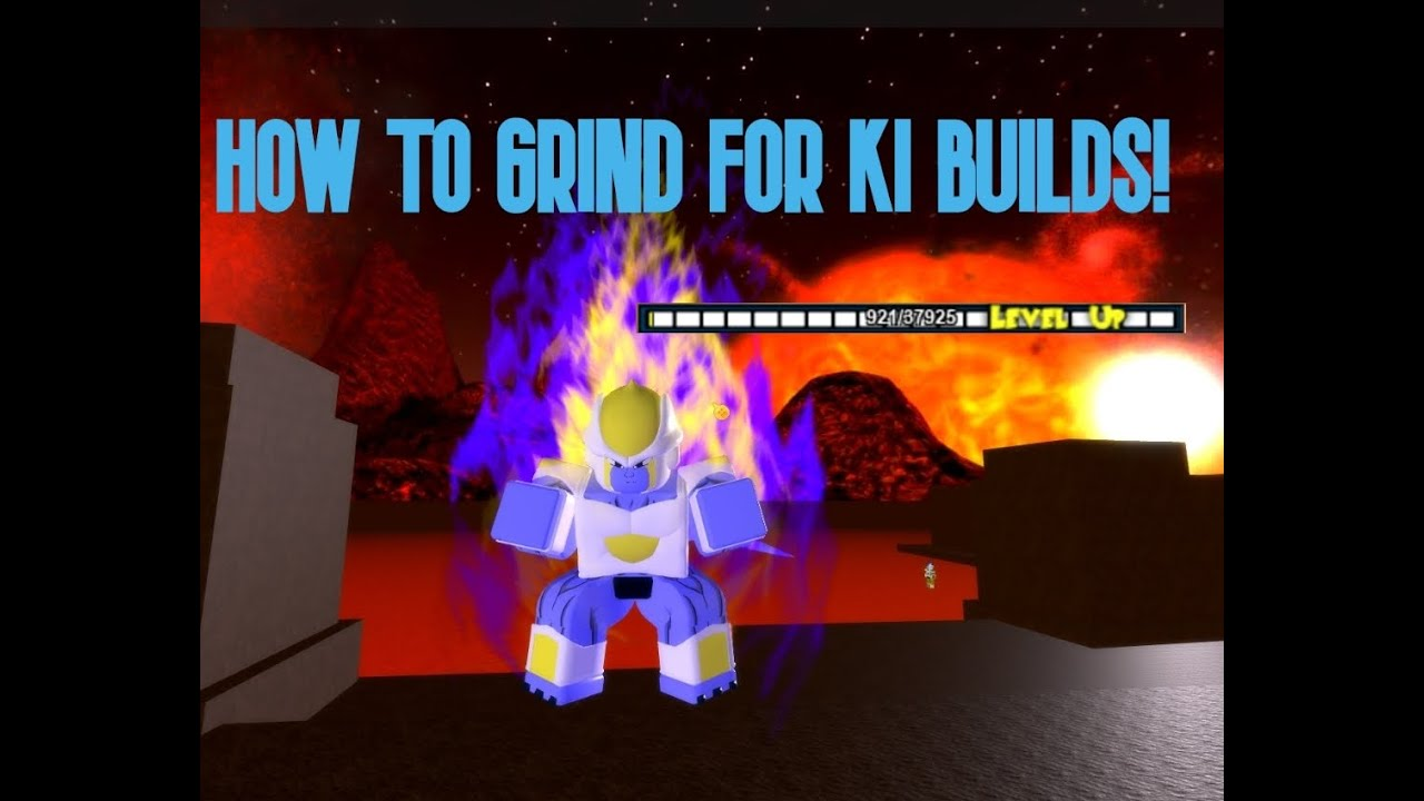 Roblox Dbog Wiki Great Method For Ki Build Grinding In Roblox Dbog Level 100 Youtube