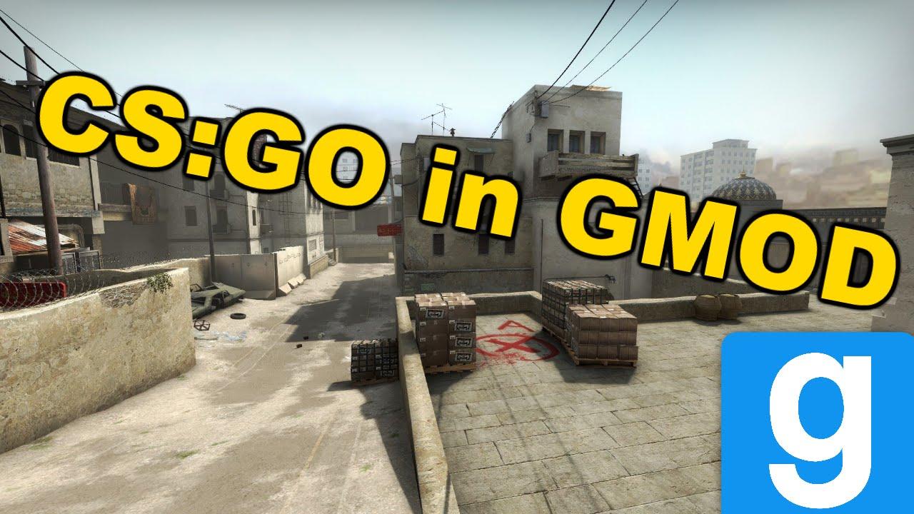 CS:GO in GMOD! [Dust 2 Gameplay]