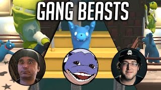 Gang Beasts Is Soo Much Fun!! ft.Summit1G, JoshOG, WitWix