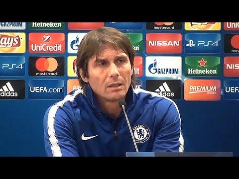 Antonio Conte Full Pre-Match Press Conference - Roma v Chelsea - Champions League