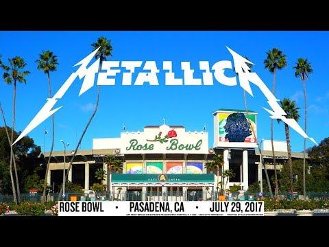 Metallica - Live at Rose Bowl, Pasadena, CA, USA (2017) [Full show] [1080p]