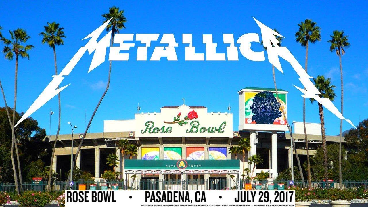 Metallica Live At Rose Bowl Pasadena Ca Usa 2017 1080p Youtube