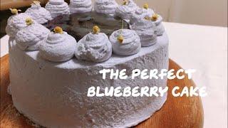 블루베리 케이크 만들기, 별립법 제누와즈, 별립법 케이…