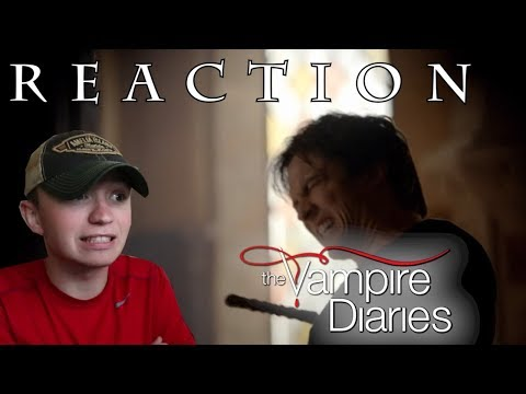 The Vampire Diaries S5E21 'Promised Land' REACTION