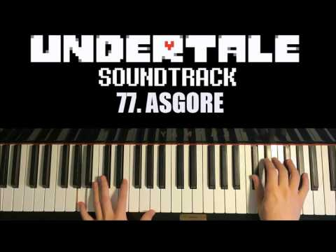Undertale OST - 77. ASGORE (Piano Cover by Amosdoll)