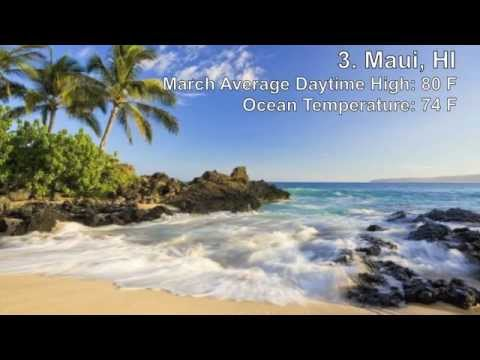 Top 10 best march vacation destinations youtube for Best vacation spots in march