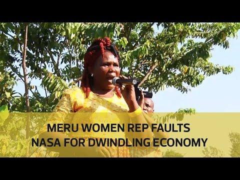 Meru women rep faults NASA for dwindling economy