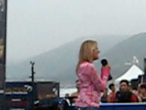 Cassie Murphy singing Nat'l Anthem in Malibu