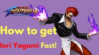 KOF98 UMOL English How to get Iori Fast!