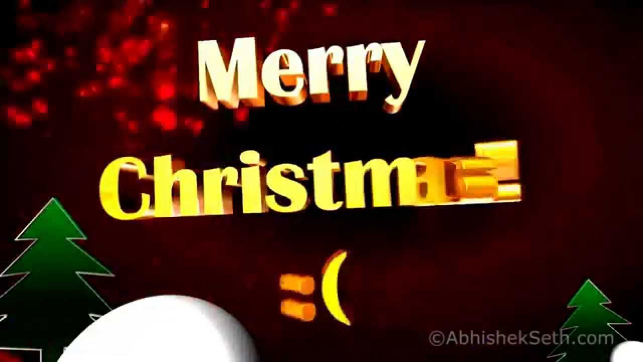Christmas wishes 2017 xmas greeting in english 3d animation with christmas wishes 2017 xmas greeting in english 3d animation with remix music video youtube m4hsunfo