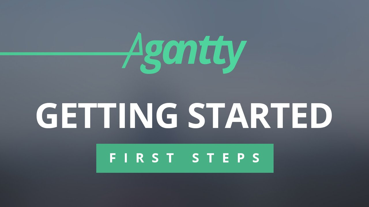 Agantty agantty first steps / getting started – free projectmanagement tool
