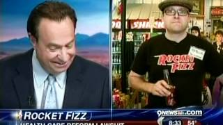 Rocket Fizz Denver on 9 News