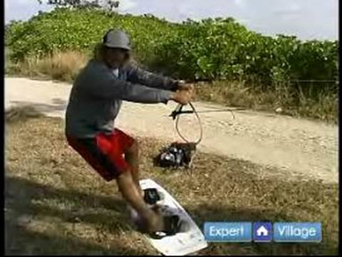 How to Start Wakeboarding : How to Control Direction on a Wakeboard