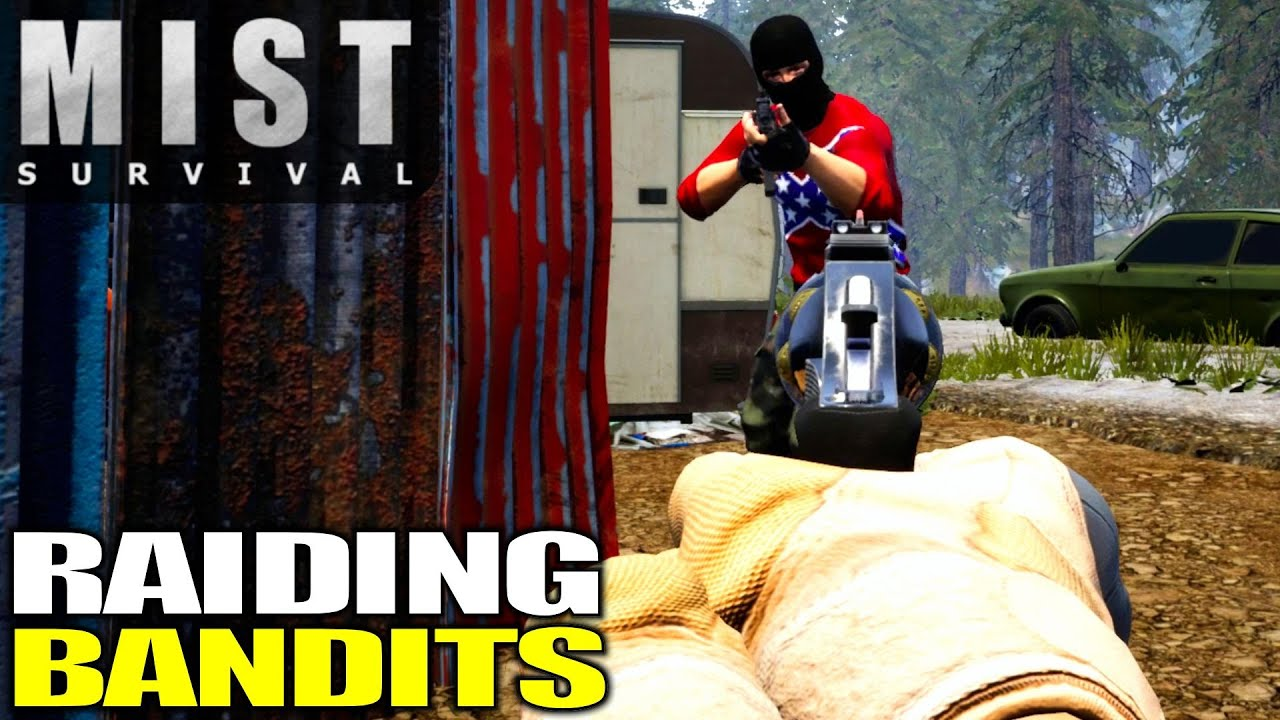 Download M4 Rifle Location & Bandit Camp Raid | Mist Survival | Let's Play Gameplay | E08