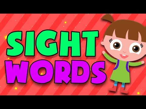 Learn to read with SIGHT WORDS | kids learning videos | abc phonics | LOTTY LEARNS