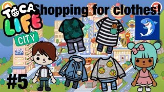 Toca life city | Shopping for clothes!? #5