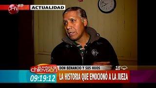 Mira lo que pasó con la estremecedora historia de don Benancio - Matinal de CHV 14/07