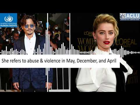 What's Amber Heard's Side? (AUDIO 2) Johnny Depp Domestic Violence - BeNotABystander
