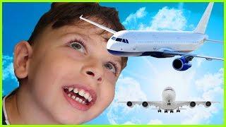 Çocuk Olduğumuzdan Beri İlk Kez Uçağa Bindik Tatile Uçtuk l Yankı Tatil Gidiyor
