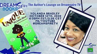 Yolanda Bradley aka Lane Bird -Authors Lounge on DreamSpire TV