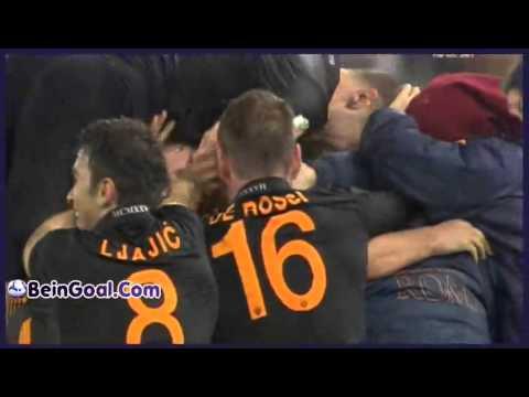Goal Strootman Roma 2 0 Napoli 05 02 2014