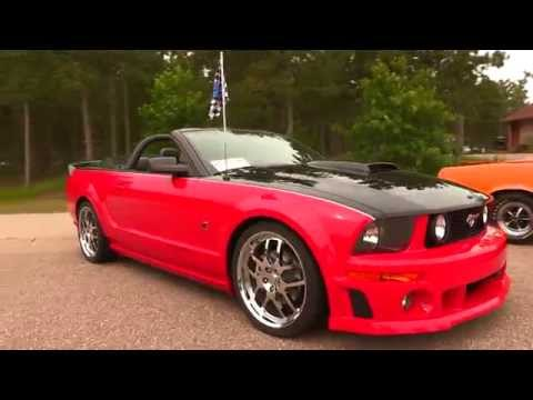 2007 Ford Mustang Roush Roadster Super Limited #56 of #100
