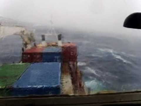 Kirbati ship Mv Moanaraoi Vs a cyclone