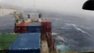 Kirbati ship Mv Moanaraoi Vs a cyclone