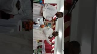 Rev Adesoji Akintimehin ministering at 2017 choir revival of C & S CHURCH OF ZION IMOLE UK