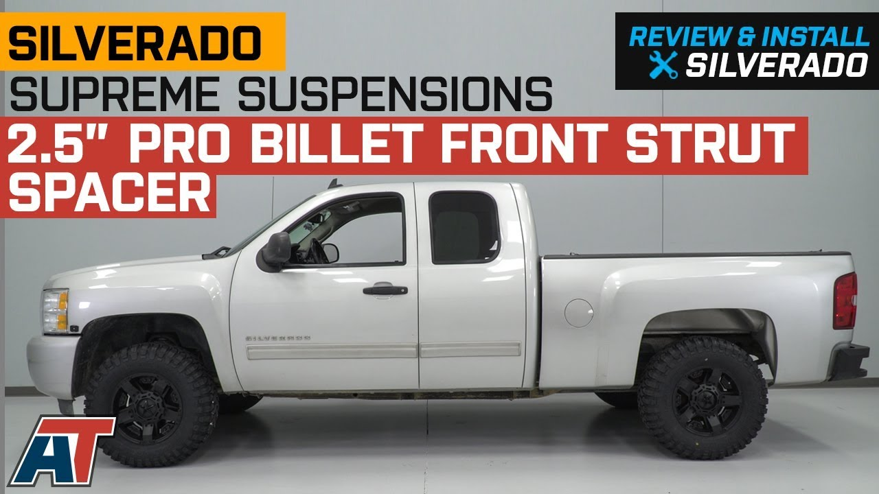 2007-2018 Silverado Supreme Suspensions 2 5