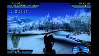 Sno-Cross Championship Racing - Sega Dreamcast Longplay and Review (Retro Sunday)