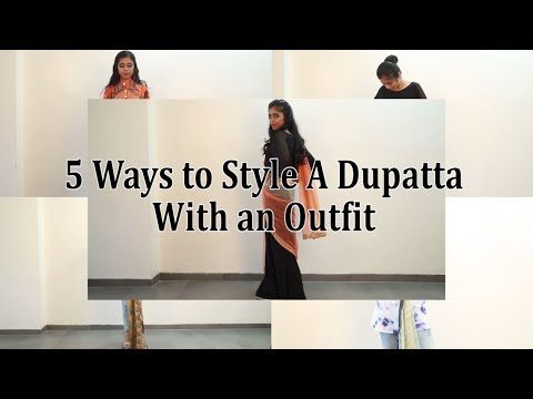 5 Ways to Re-style A Salwar Kameez Dupatta with an Outfit