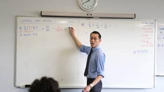 Limiting Sum Applications (2 of 3: Visual interpretation & recurring decimals)