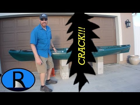 CHEAP & EASY Repair for a Cracked Kayak