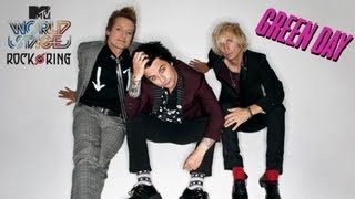 Green Day - MTV World Stage 2013 [Rock Am Ring] FULL CONCERT