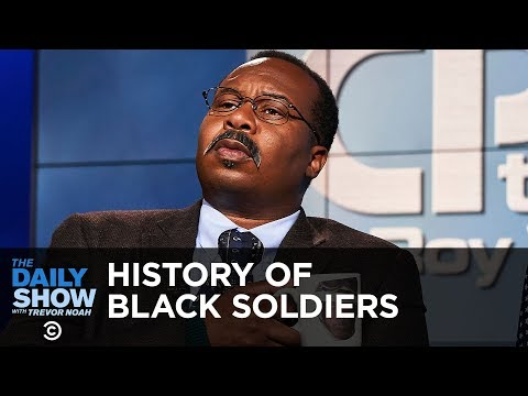 CP Time: Contributions of the Black Soldier | The Daily Show thumbnail