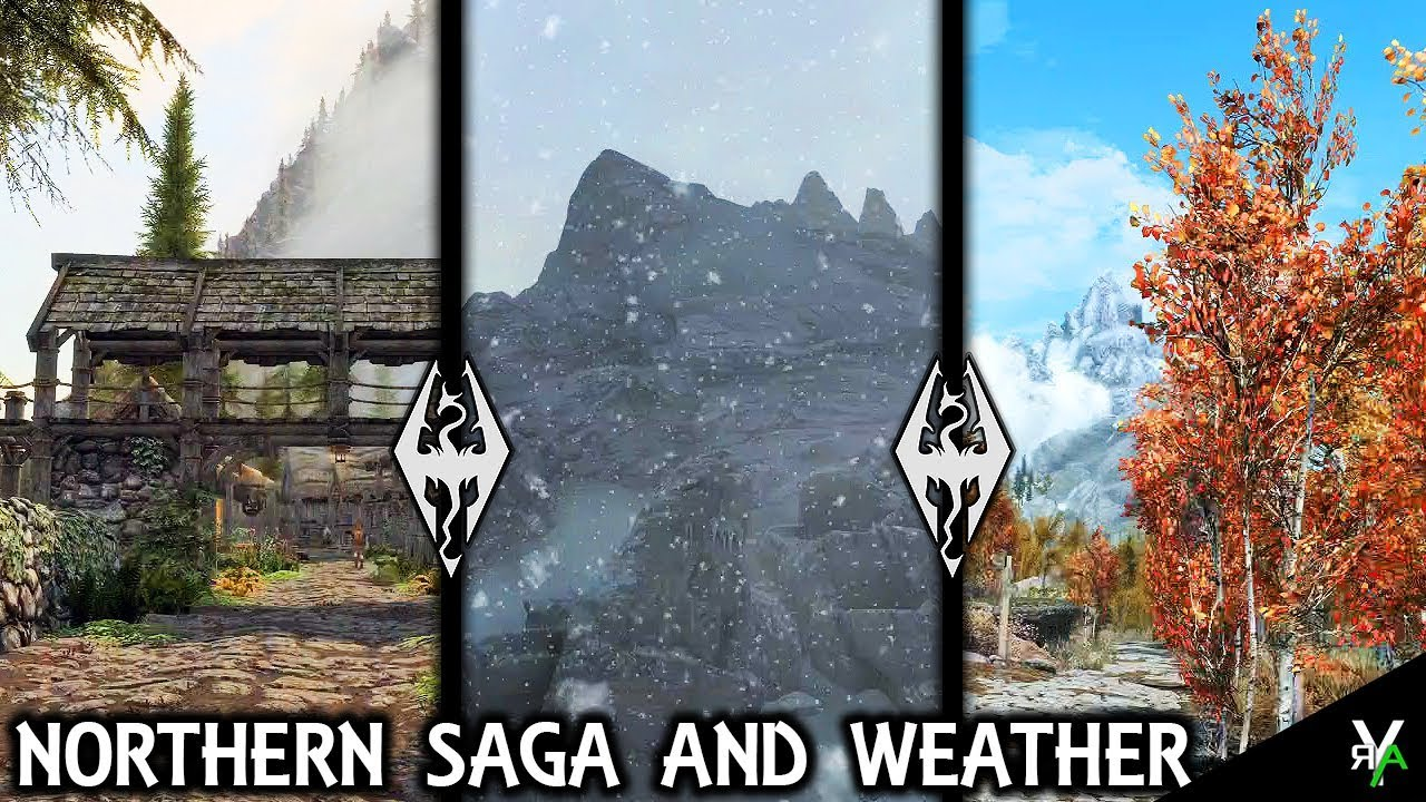 exquisite style look out for excellent quality NORTHERN SAGA WEATHERS AND SEASONS: Weather Mod!!- Xbox Modded Skyrim Mod  Showcase