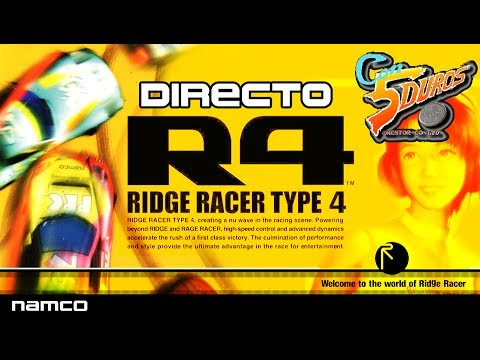 DIRECTO: RIDGE RACER TYPE 4 (PLAYSTATION)