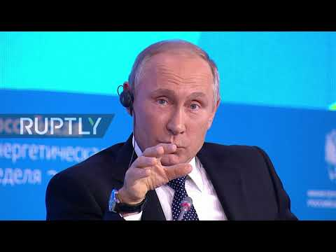 Russia: 'Am I alone on this panel?' Putin deploys Israeli army analogy at Energy Week Forum