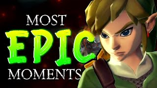 Top 5 Most EPIC Moments in Skyward Sword HD! [ft. @Zelda Theory]