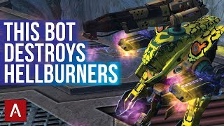 Strider - The BEST Way To Kill HELLBURNERS / Strider Ember Halo Setup / War Robots Gameplay