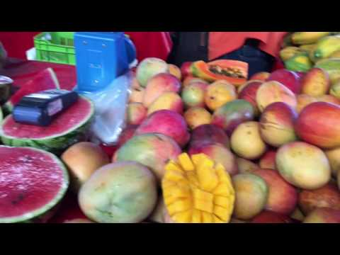 Farmer's Market to Bowl in Costa Rica: Fruit Haul