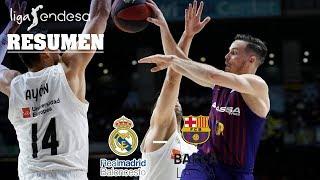 Real Madrid - Barça Lassa (76-82) RESUMEN // Jornada 24 Liga Endesa