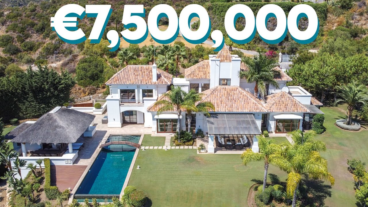 TOURING A LUXURY €7,500,000 MARBELLA VILLA *INSANE MOUNTAIN VIEWS*