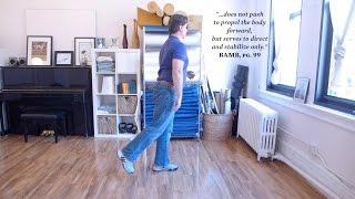 The Back Leg Strikes Back: The Weightless Wheel Of Walking