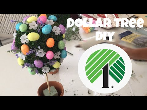 DIY Dollar Tree Spring Decor