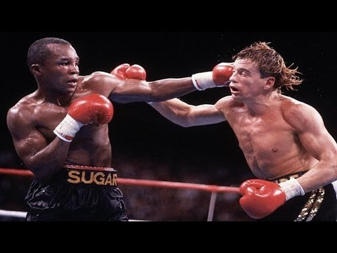 Sugar Ray Leonard - Best Combinations & Flurries